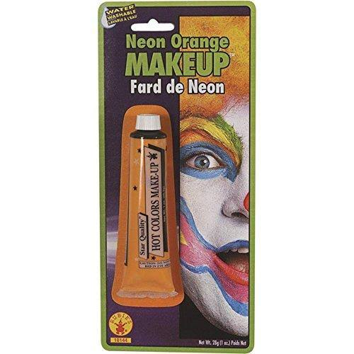 Rubie's Neon Cream Makeup - Orange