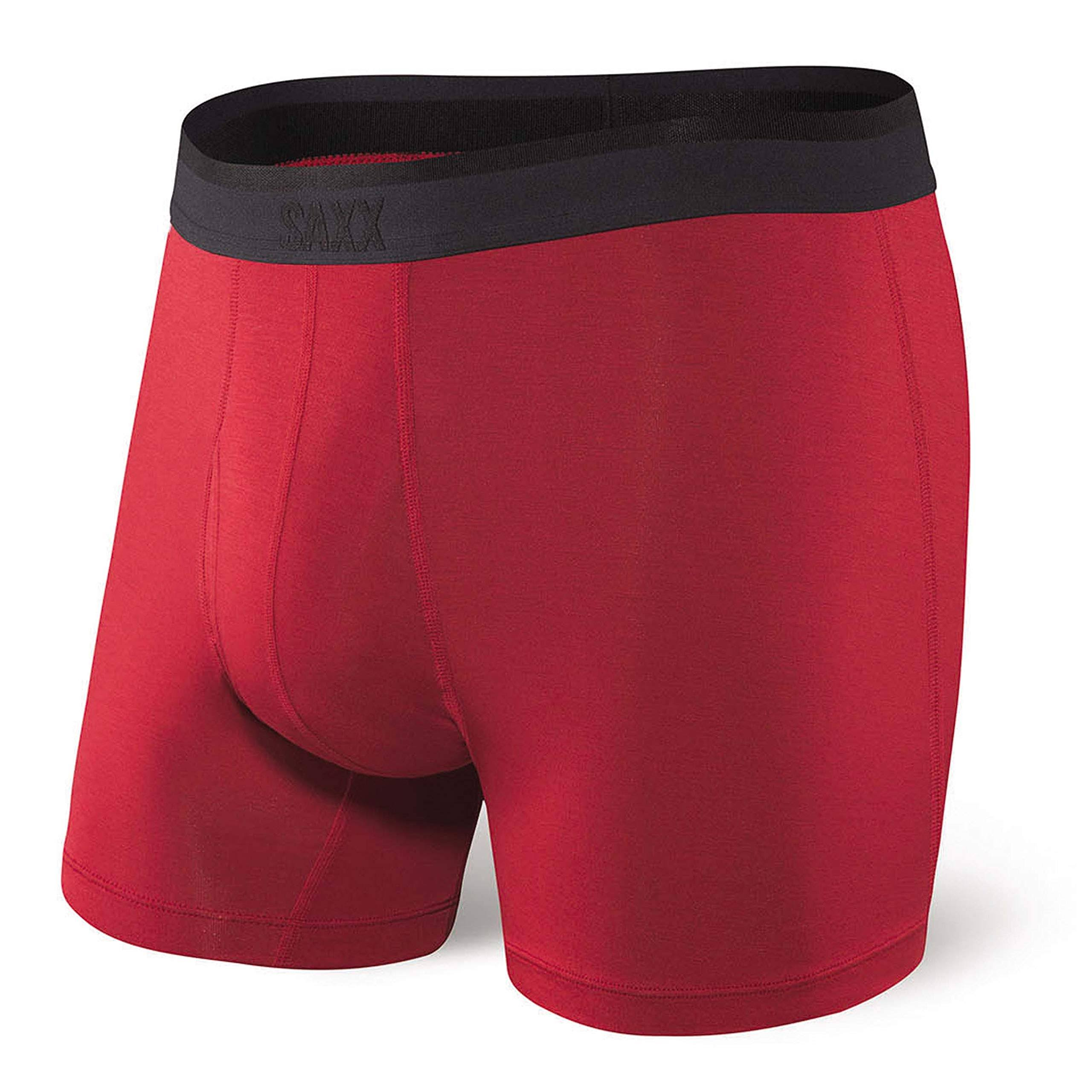 Saxx Platinum Boxer Brief - Men's Red, L