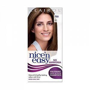 Nice'n Easy Non Permanent Hair Dye - 755 Light Brown