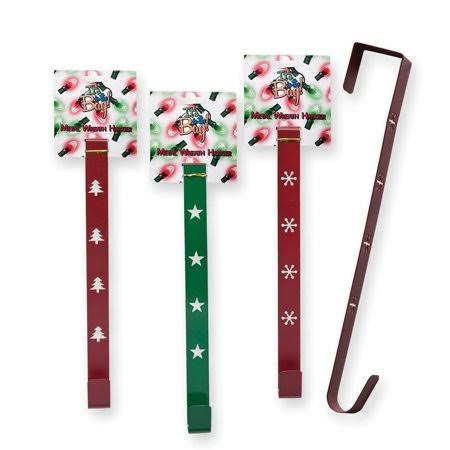 Its In the Bag Metal Wreath Hanger - Green and Red