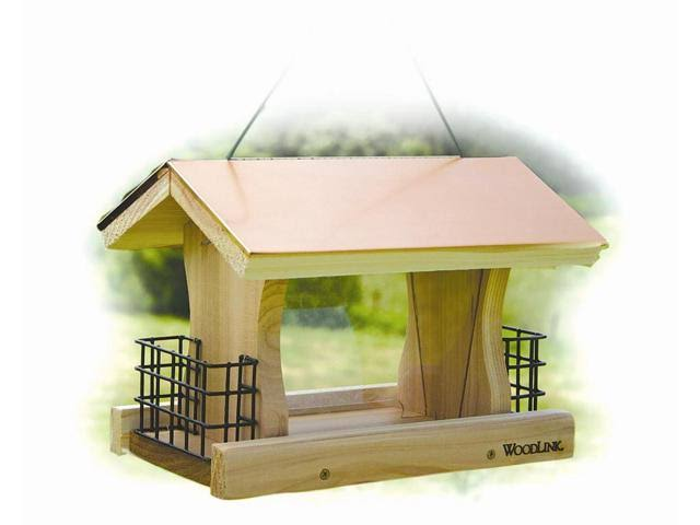 Woodlink COP4 Coppertop Ranch Feeder with Suet Cages