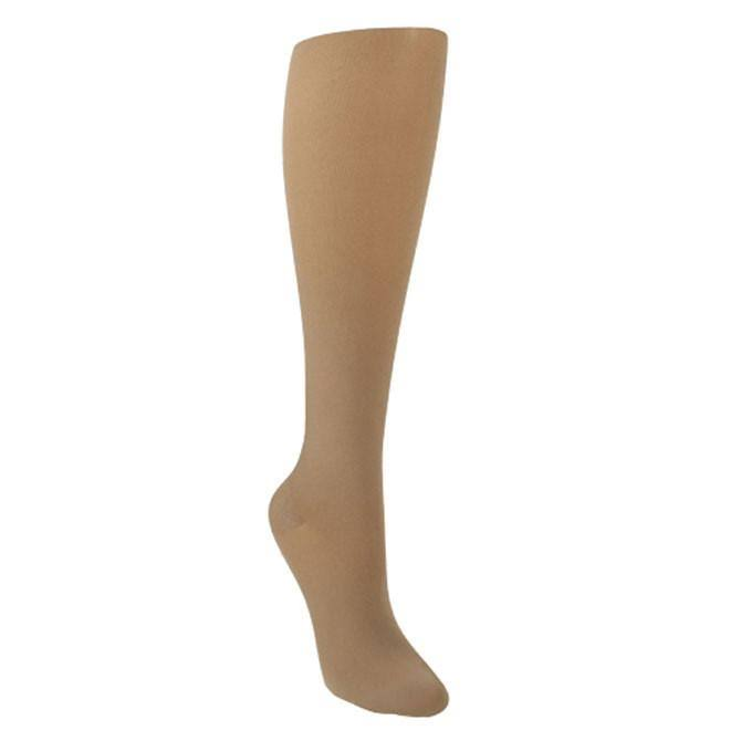 Sigvaris Soft Opaque 30-40 mmHg Knee High Open Toe Small Long Black