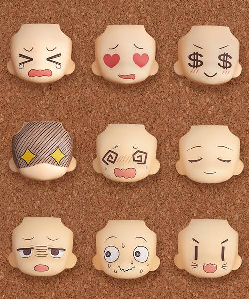 Good Smile Company Nendoroid More: Face Swap 01 & 02 Selection