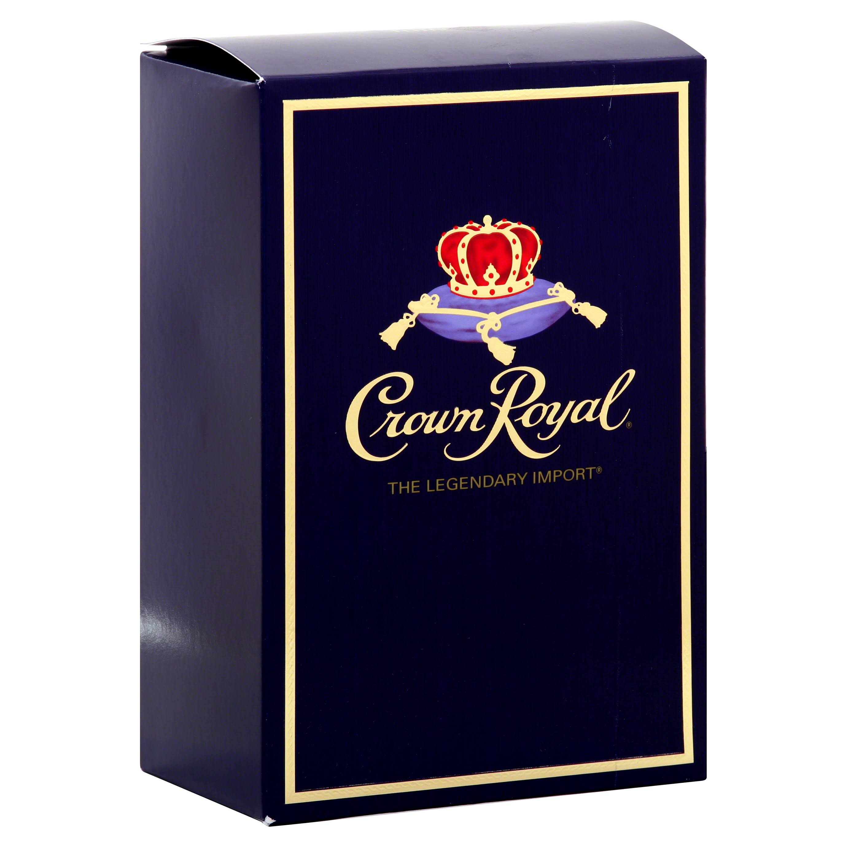 Crown Royal Canadian Whisky - 1L