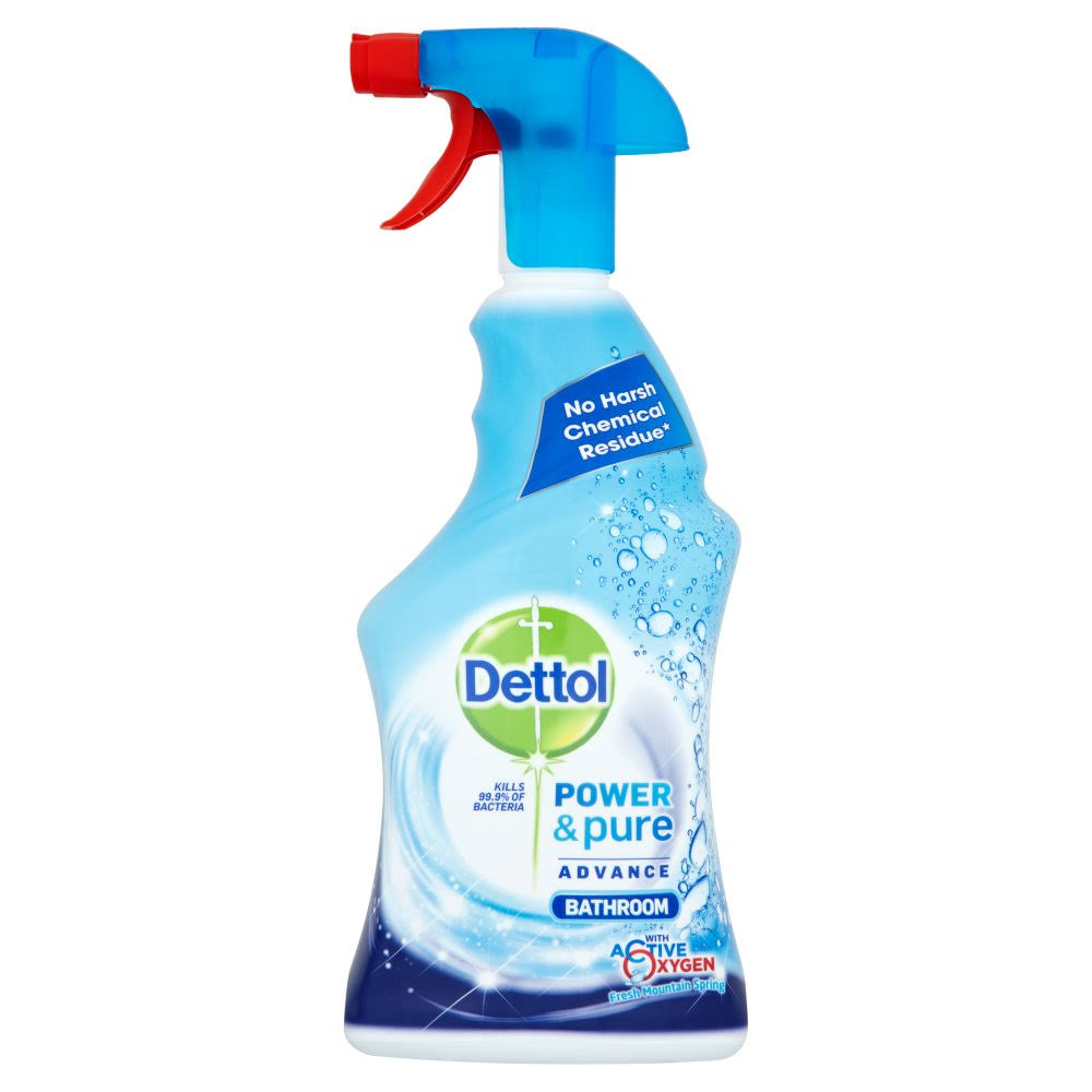 Dettol Power and Pure Bathroom Cleaning Spray - 750ml