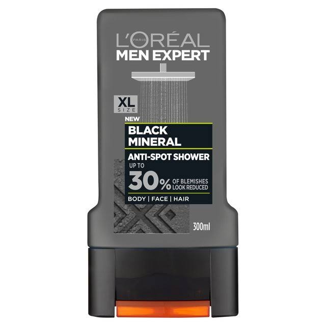 L'Oreal Paris Men Expert Black Mineral Shower Gel - 300ml