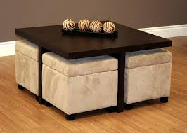 coffee table with stools underneath beach house furniture ideas