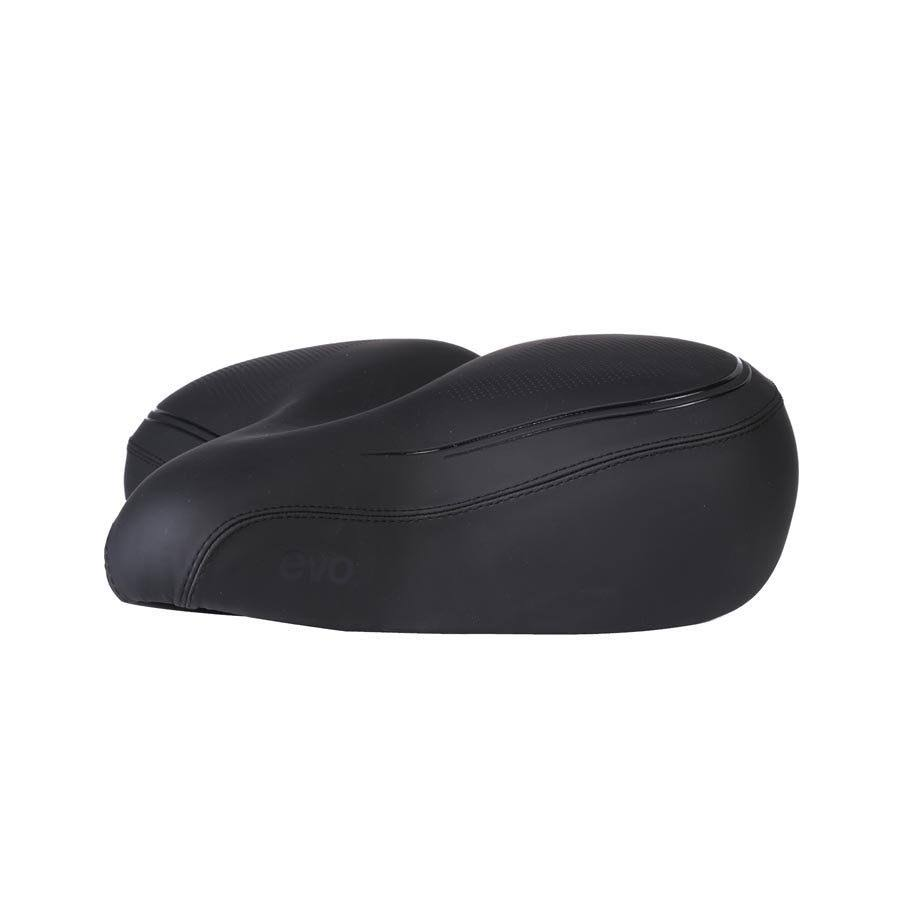 Evo Cruiser Bicycle Saddle - 260x218mm, Black