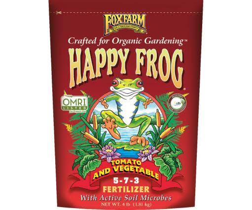 Foxfarm Happy Frog Tomato & Vegetable Fertilizer - 4lbs
