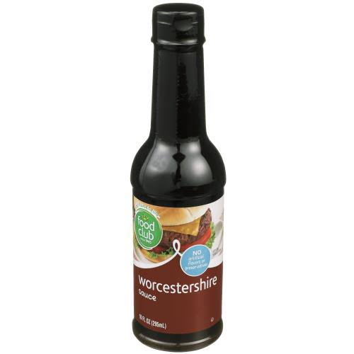 Food Club Worcestershire Sauce, Authentic - 10 fl oz