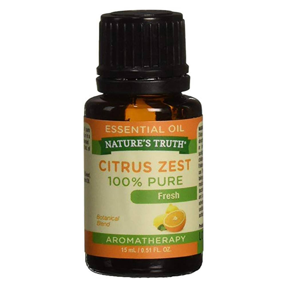 Nature's Truth Aromatherapy 100% Pure Essential Oil Citrus Zest - 15ml