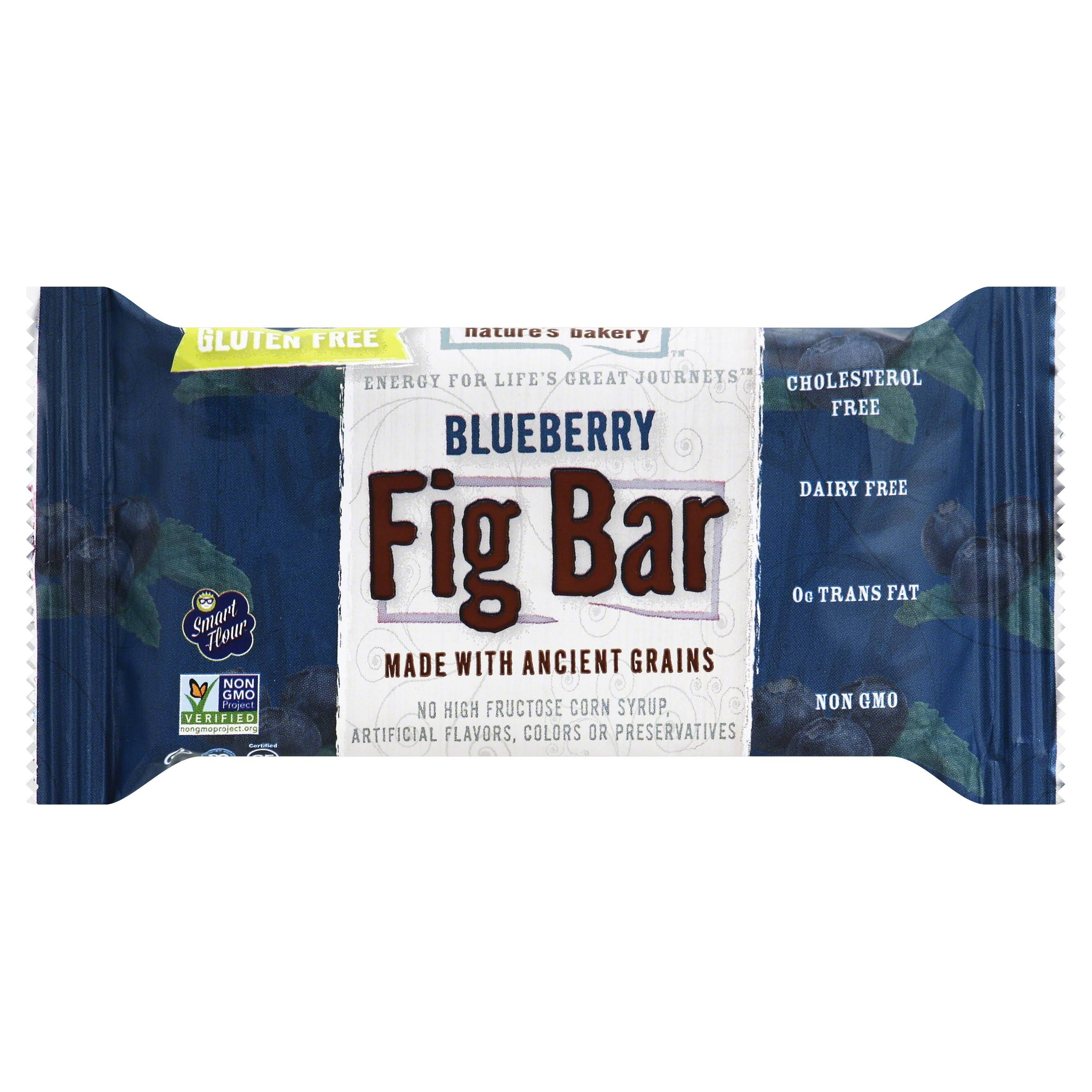 Natures Bakery Gluten Free Fig Bar - Blueberry, 60ml