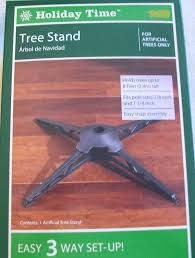 Christmas Tree Amazon Prime by Amazon Com Holiday Time Artificial Tree Replacement Stand Home