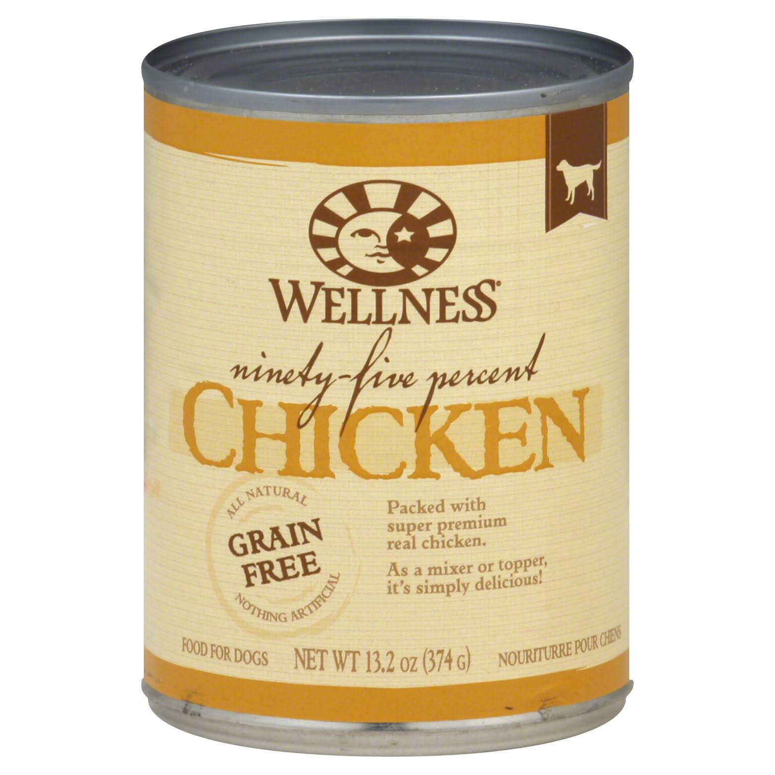 Wellness Dog Food - Chicken, 374g