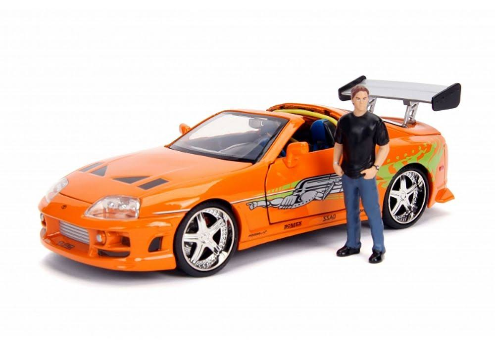 Jada Toys Brian Toyota Supra Fast and Furious Diecast