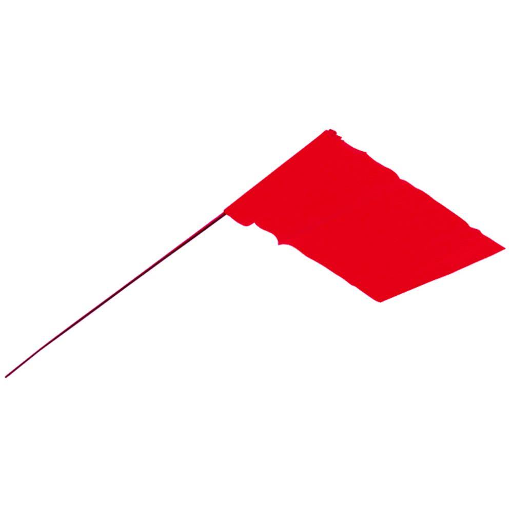 "Empire Level 78-007 Stake Flags - Red. 2.5"" x 3.5"""