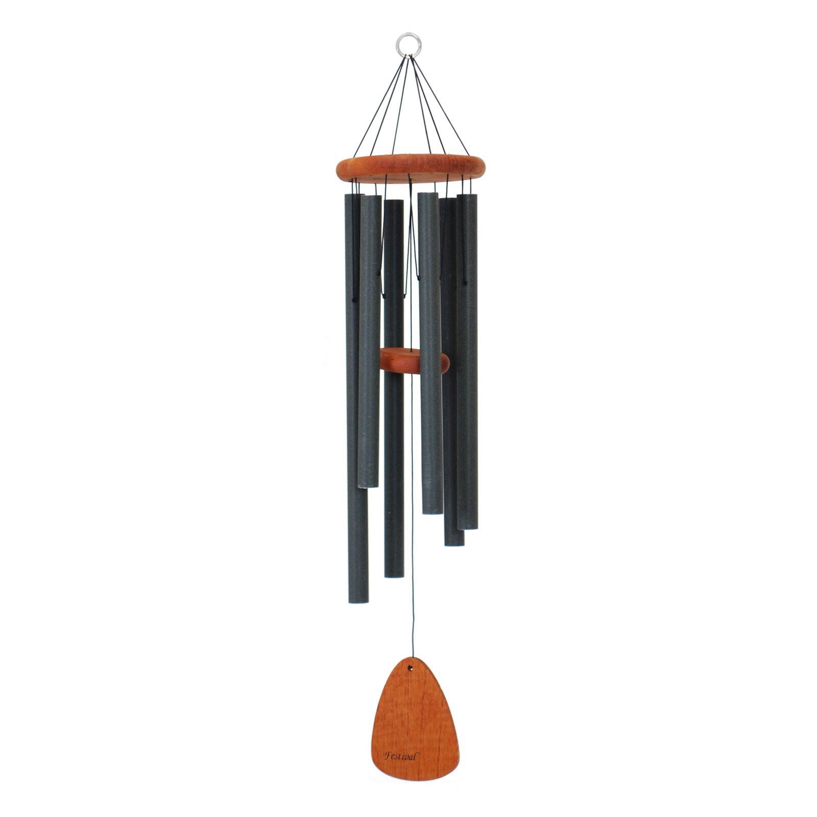 Festival 36 in. Wind Chime, Green