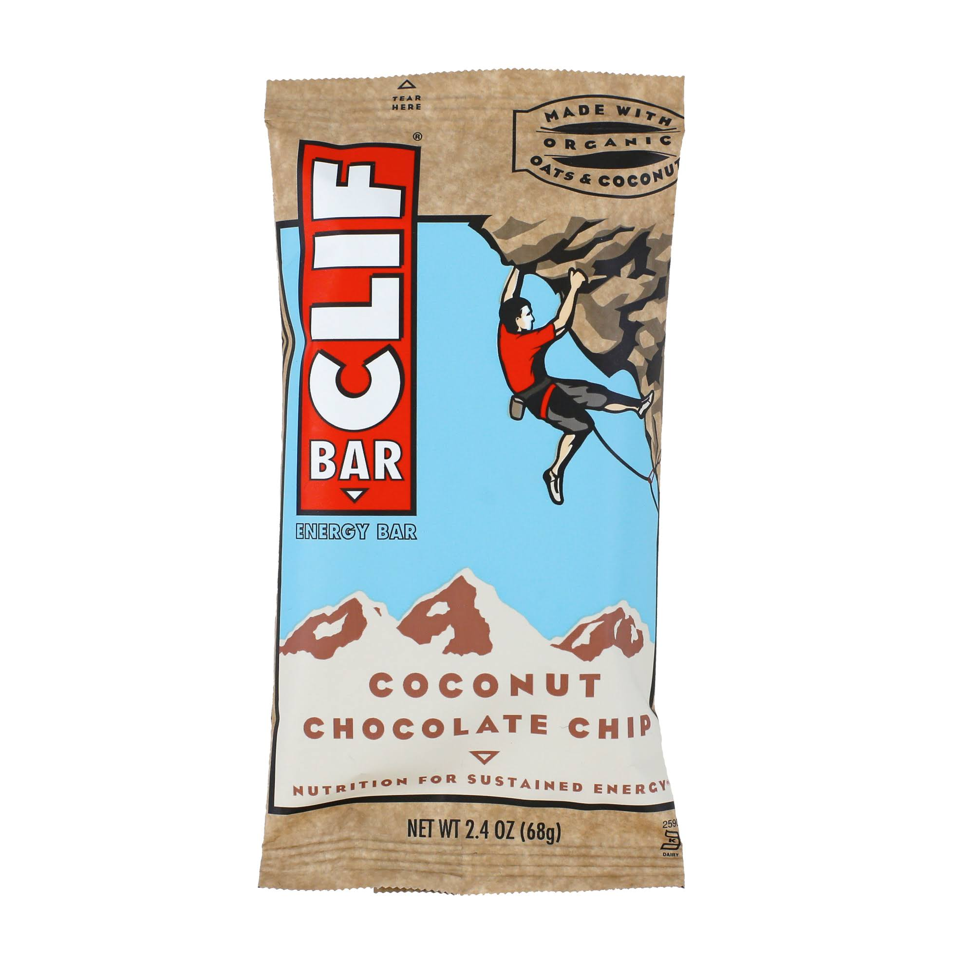 Clif Energy Bar - Coconut Chocolate Chip, 2.4oz