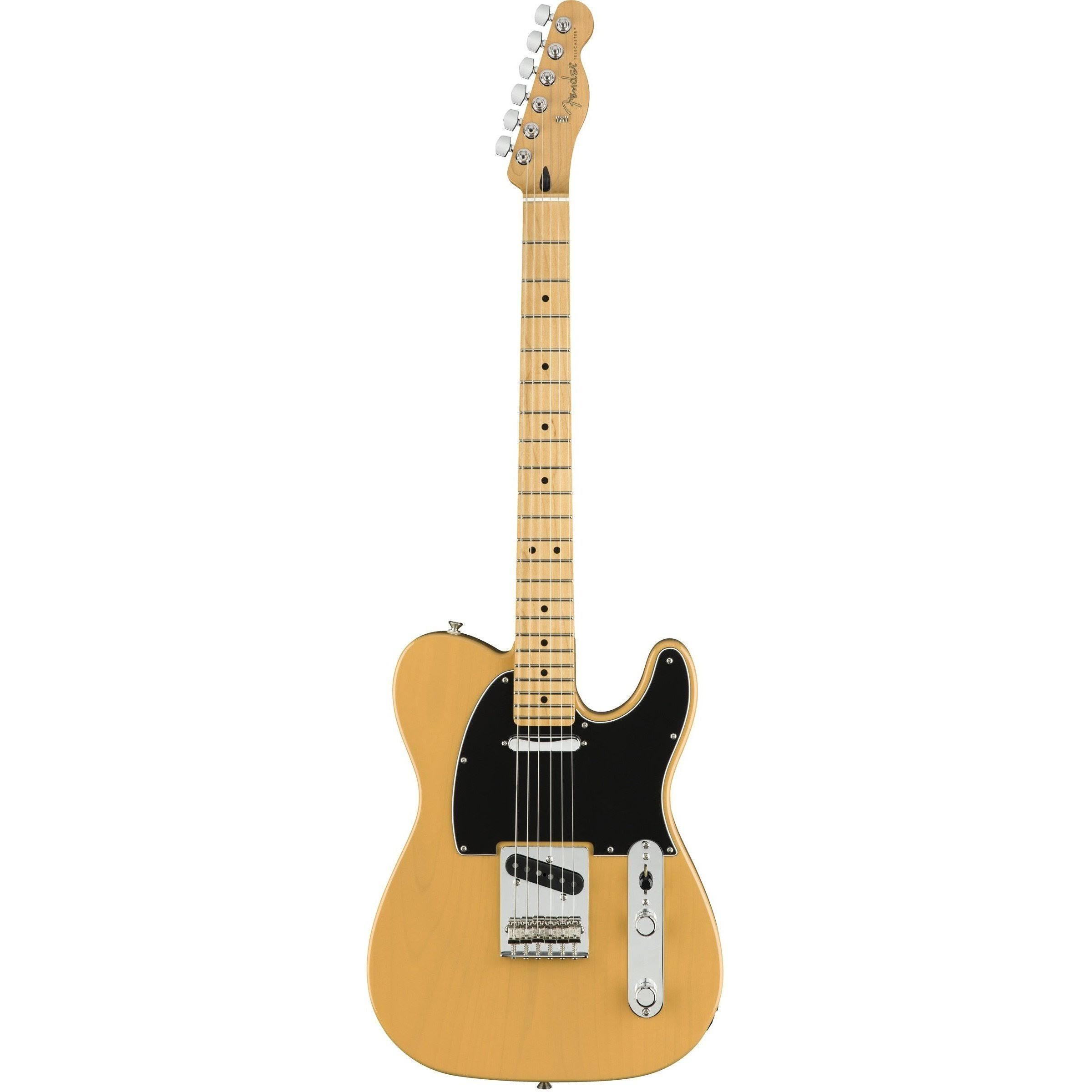 Fender Player Telecaster with Maple Fretboard Butterscotch Blonde 2018
