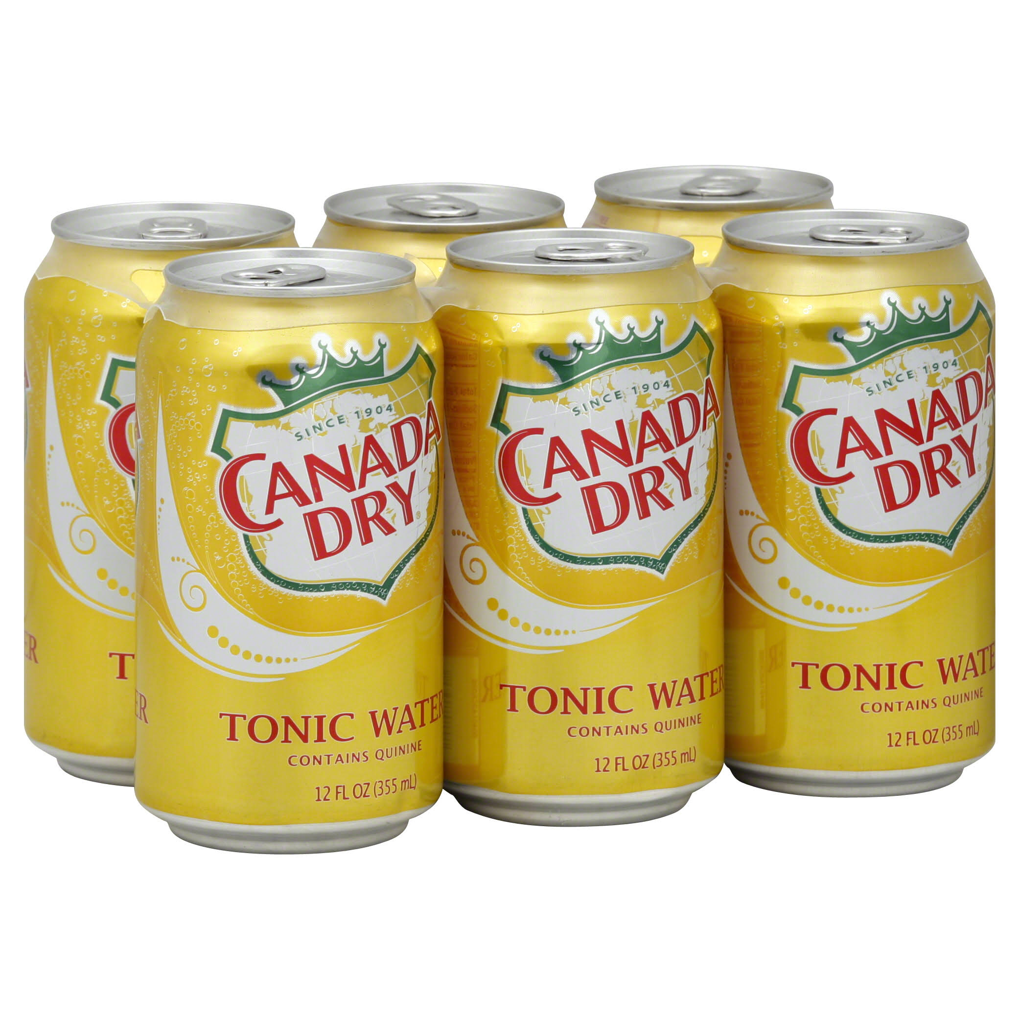 Canada Dry Tonic Water - 12oz, 6pk