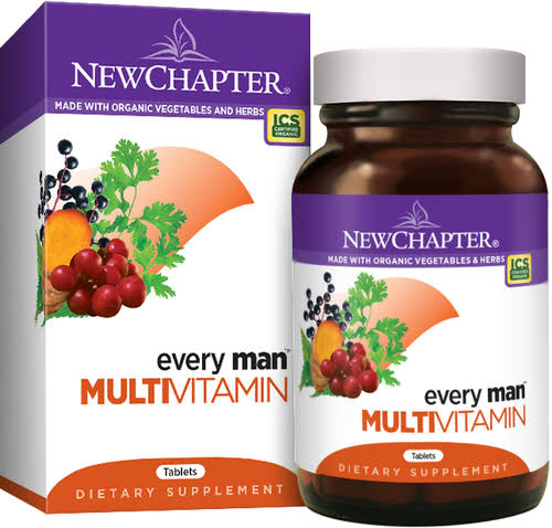 New Chapter Every Man Multivitamin - 120 Tablets