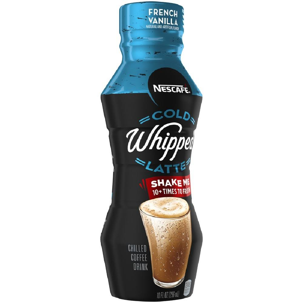 Nescafe Cold Whipped French Vanilla Latte - 10 fl oz Bottle