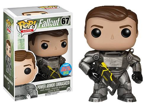 Funko POP! Fallout Games Vinyl Figure - Unmasked Power Armour