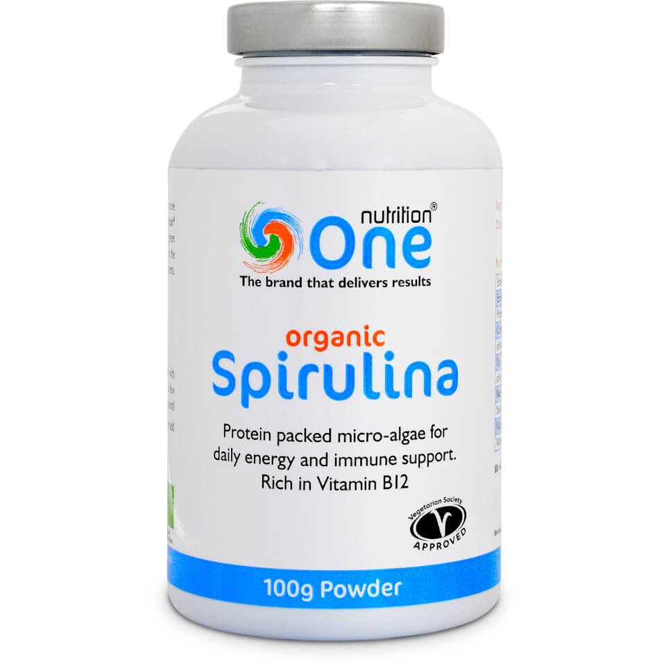 One Nutrition - Organic Spirulina Powder (200g)