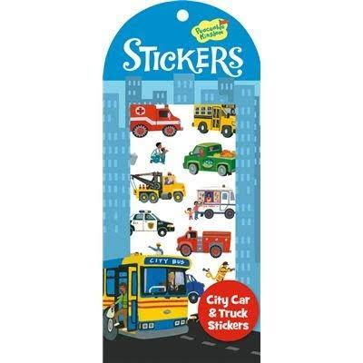 Peaceable Kingdom Sticker Pack - City Car Truck