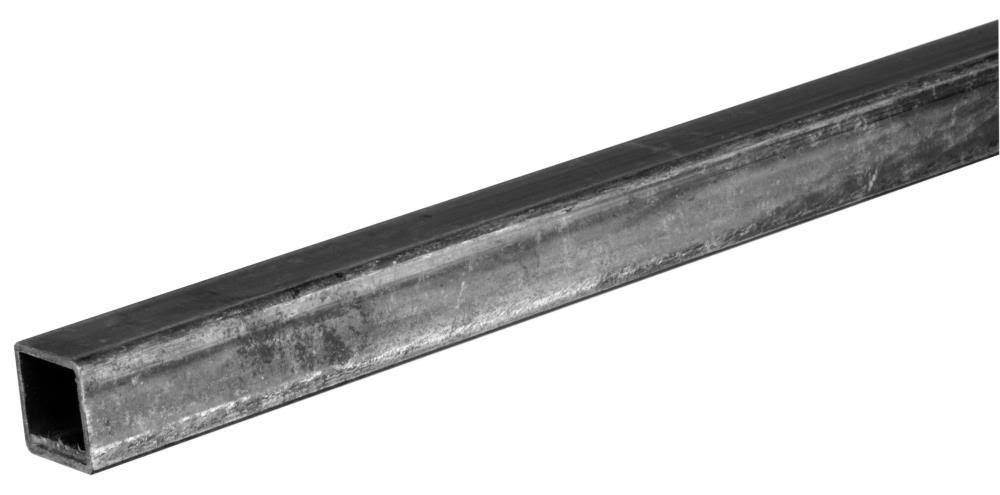 "Stanley Hardware Square Steel Tube - 1/2 "" x 36"""