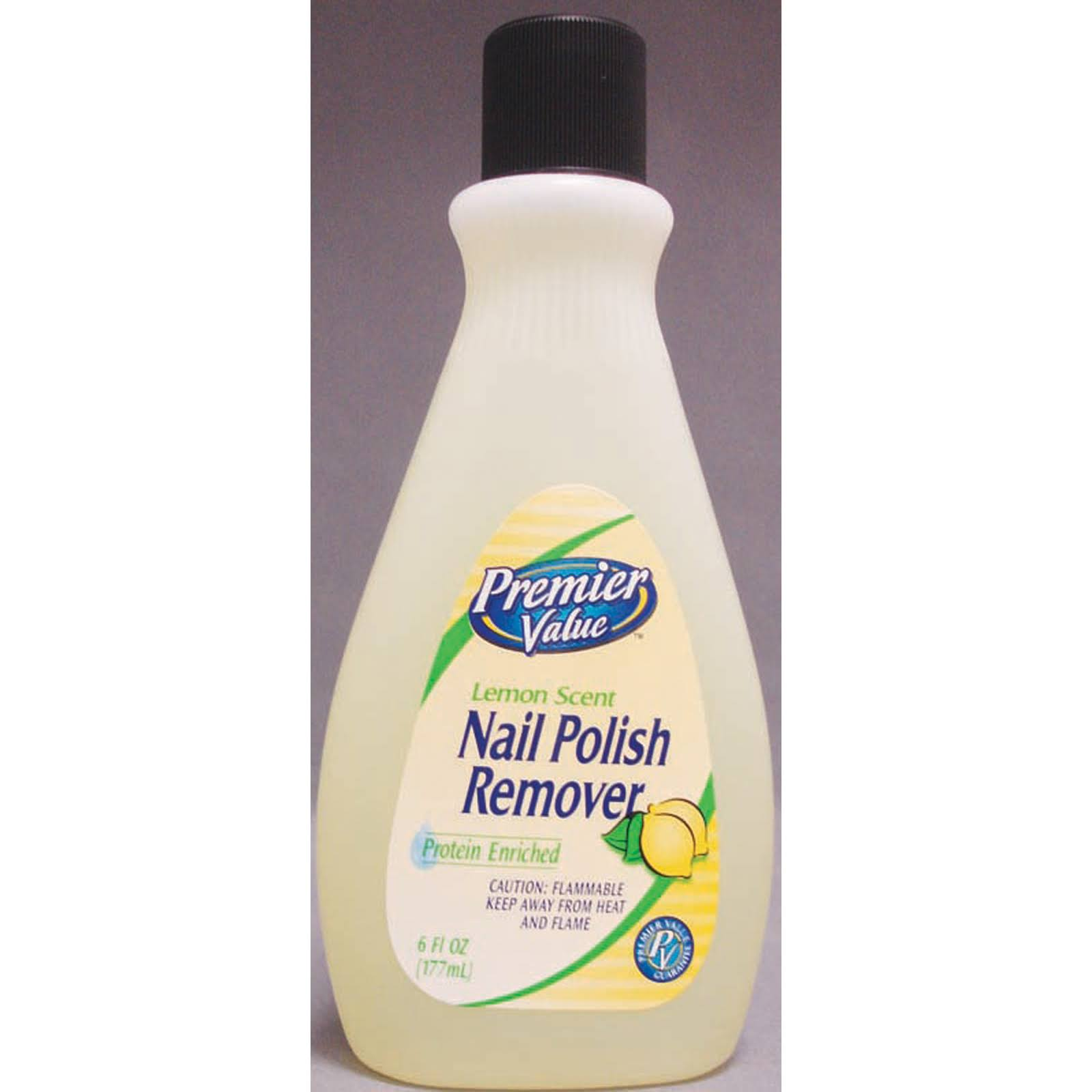Premier Value Nail Polish Remover Lemon - 6oz