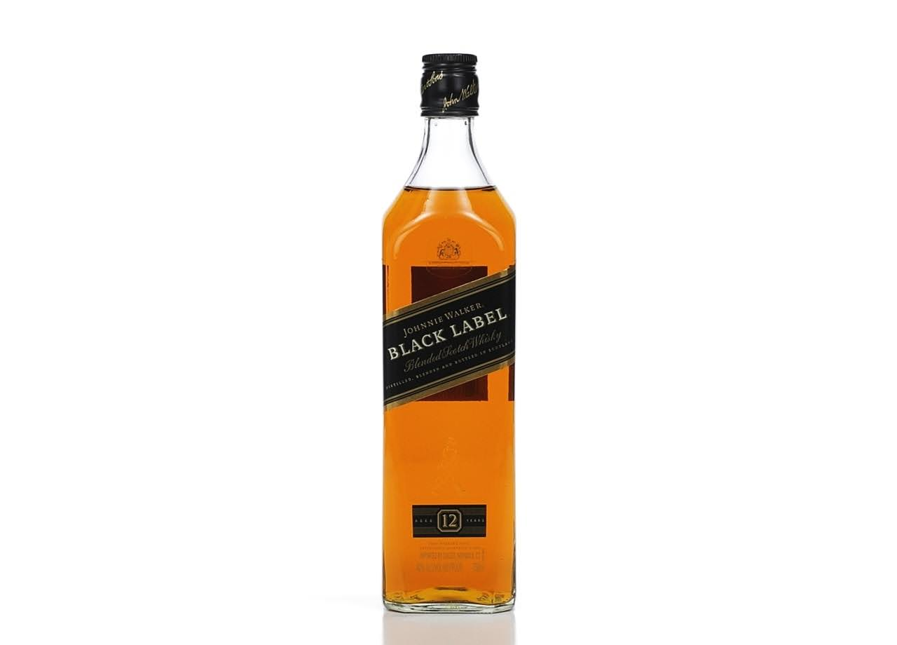 Johnnie Walker Black Label Scotch Whiskey
