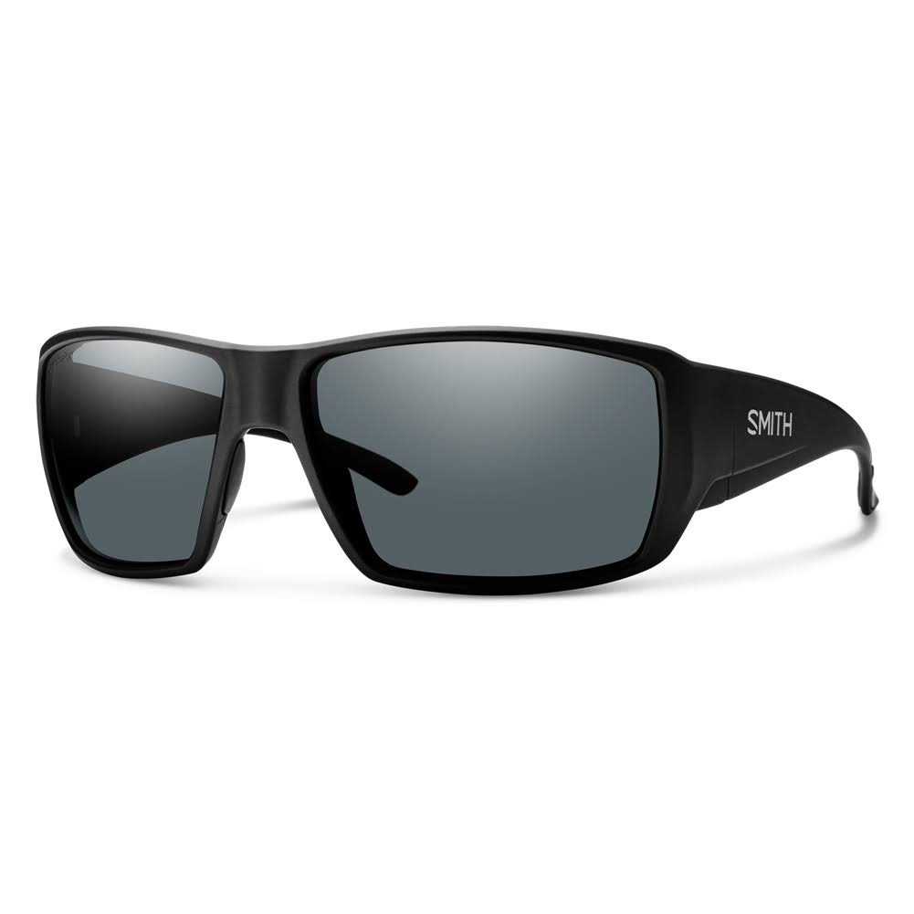 Smith Guides Choice Sunglasses - Matte Black/Chromapop Polarized Gray