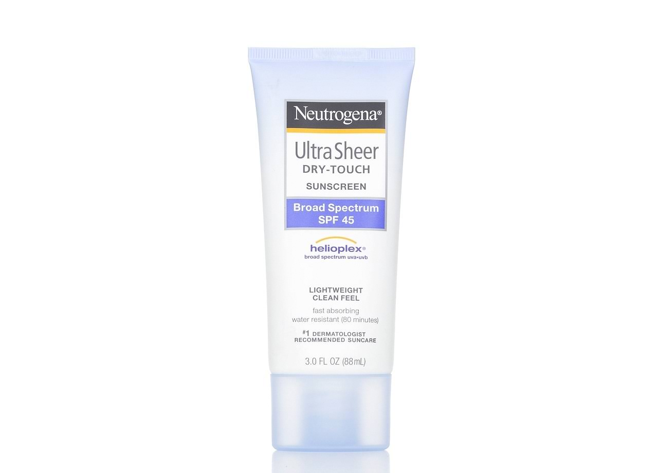 Neutrogena Ultra Sheer Dry-Touch Sunblock - SPF 45, 88ml