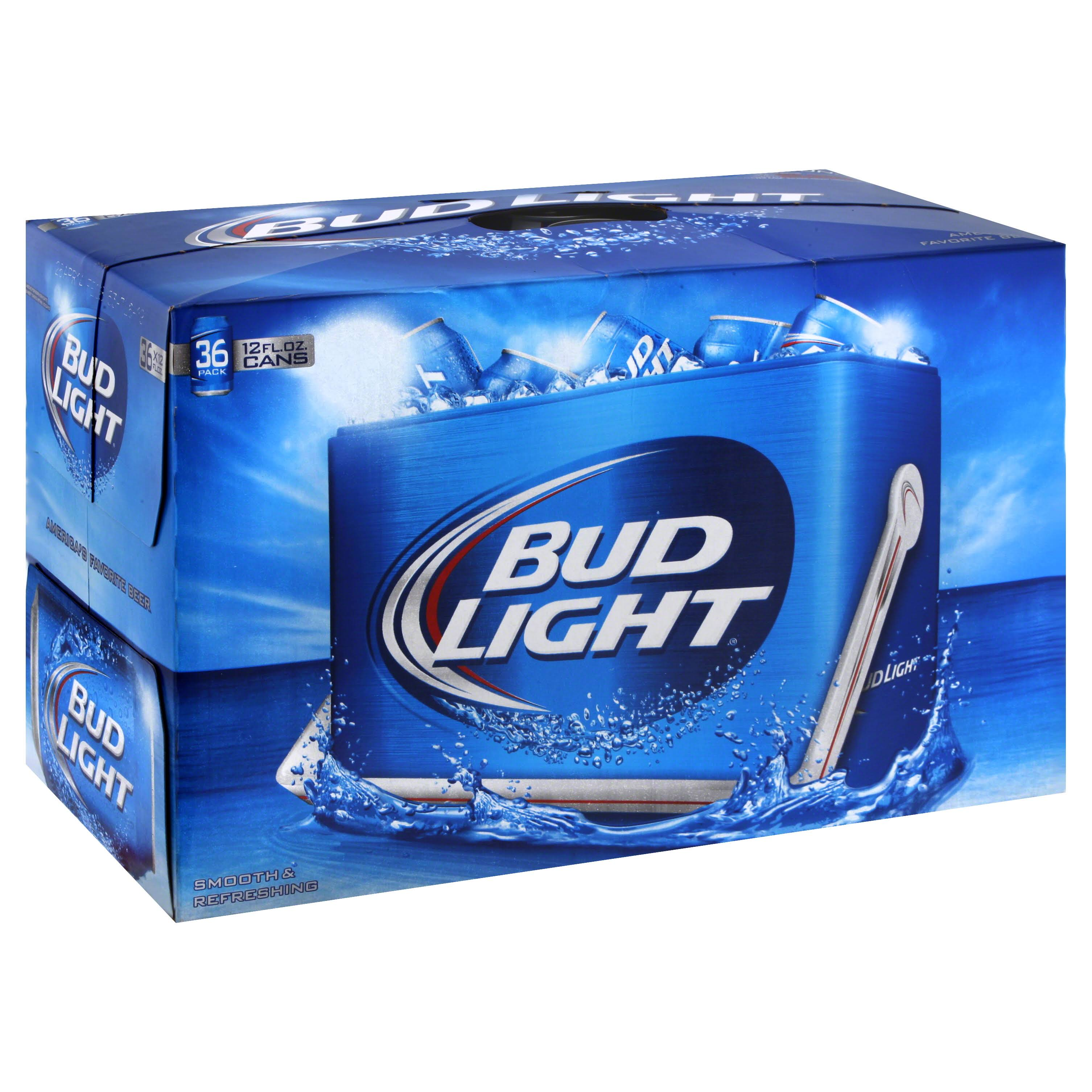 Bud Light Beer - 36 Cans