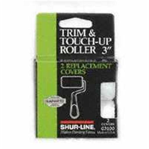 Shur-Line Trim And Touch-UP Roller - 2 Replacement Covers