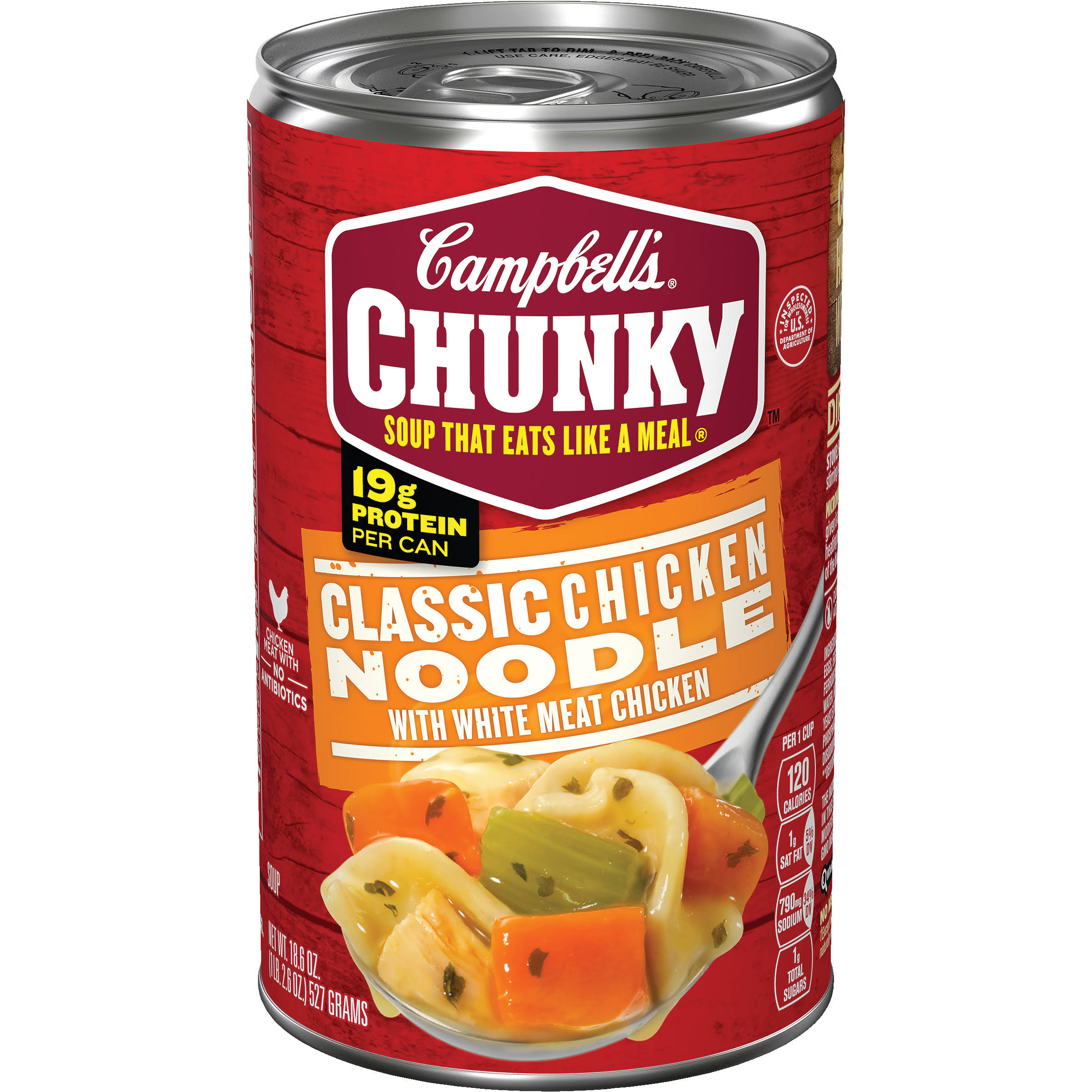 Campbells Chunky Classic Chicken Noodle Soup - 19oz