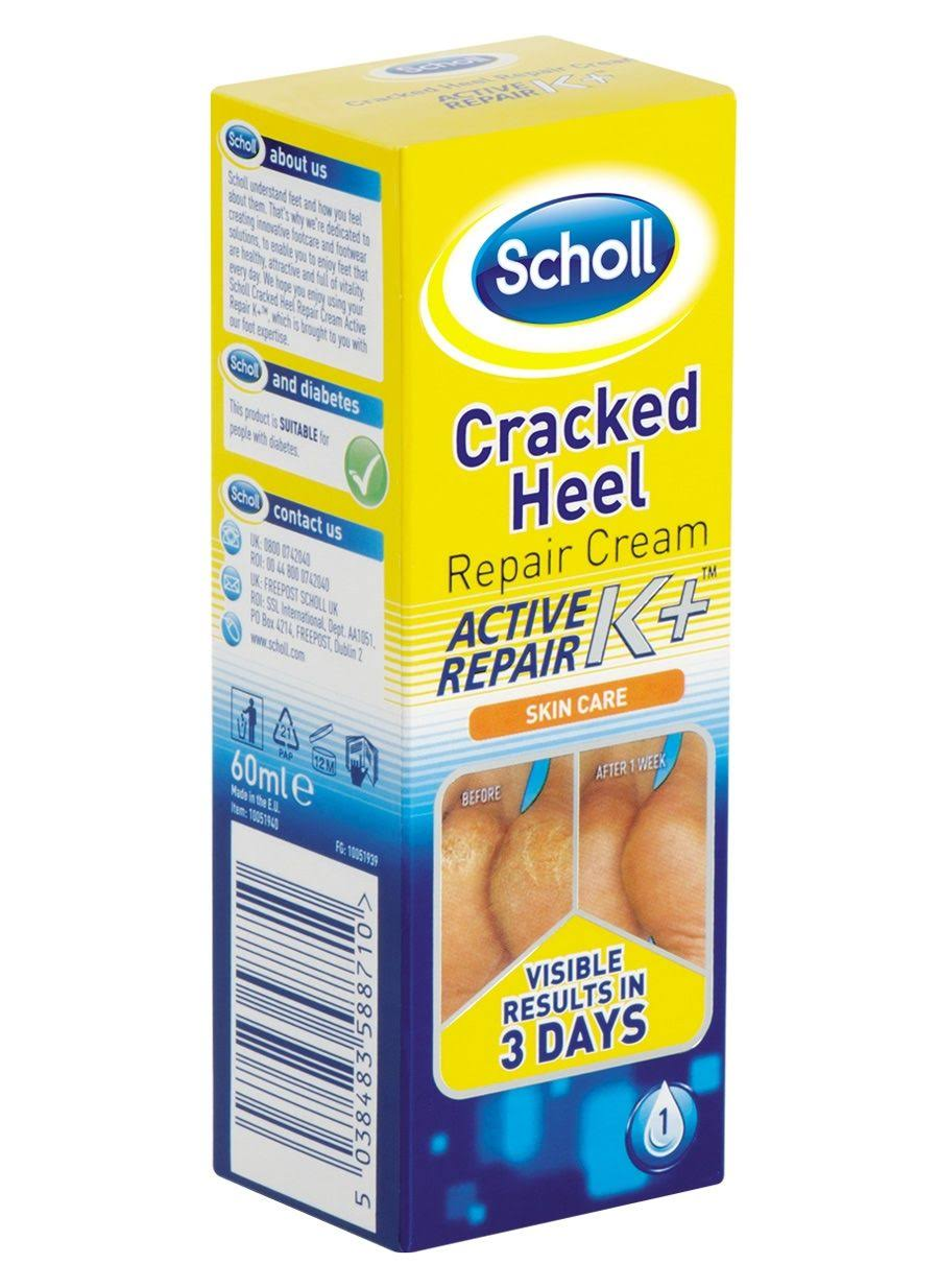Scholl Cracked Heel Cream Active Repair Kit - 60ml