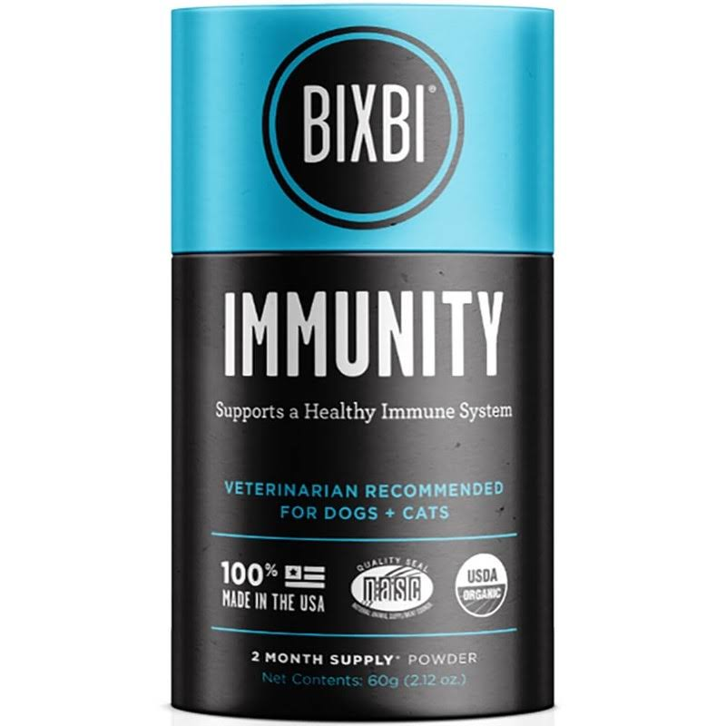 Bixbi Organic Pet Superfood Daily Dog and Cat Immunity Supplement - 60g