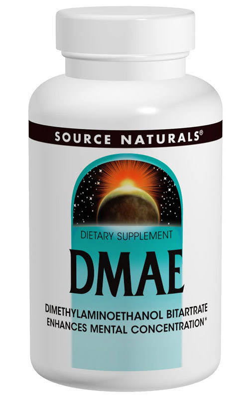 Source Naturals DMAE Dietary Supplement - 351mg, 50ct, 2pk