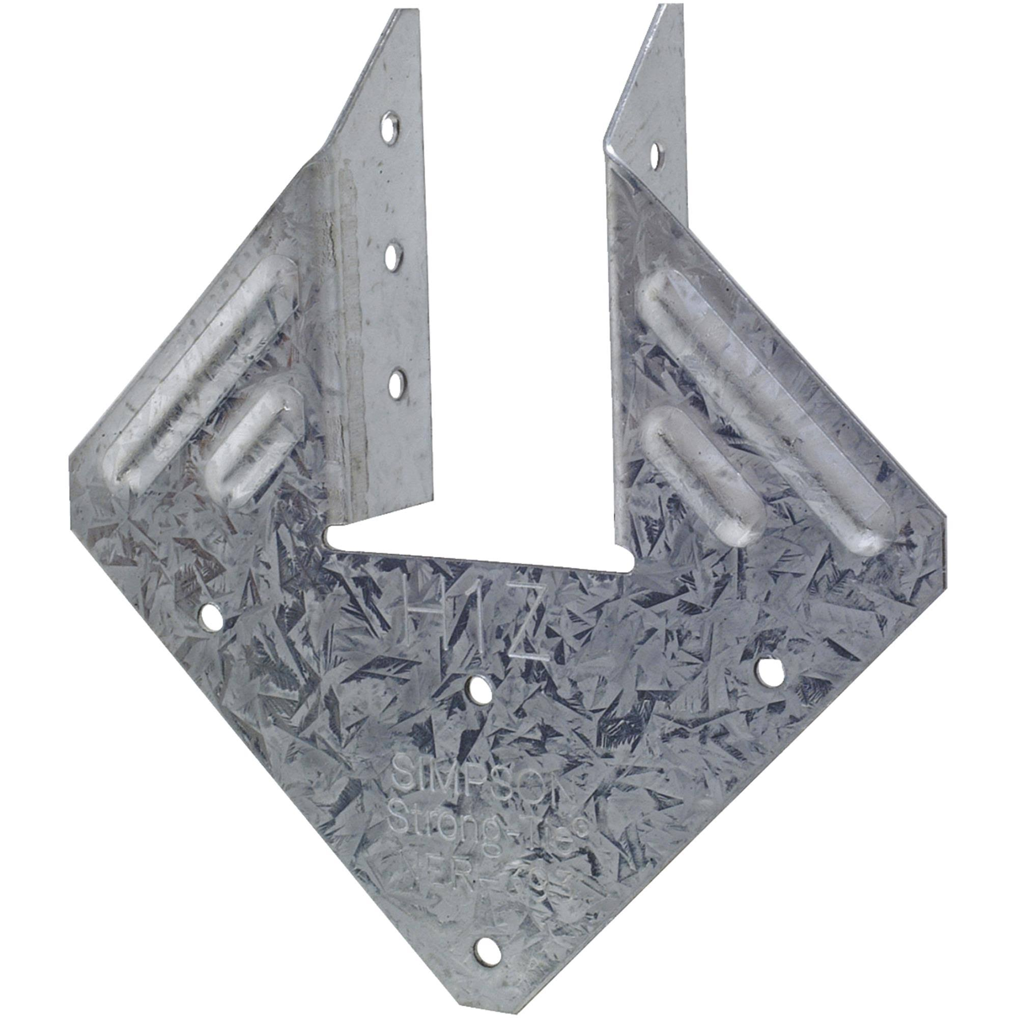Simpson Strong-Tie H1Z Z-MAX Galvanized Hurricane Tie - 18 Gauge