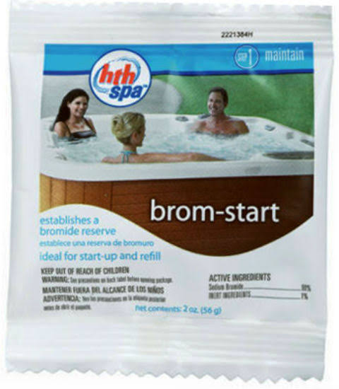 Arch Chemical hth Spa Brom Start - 2oz, Set of 2