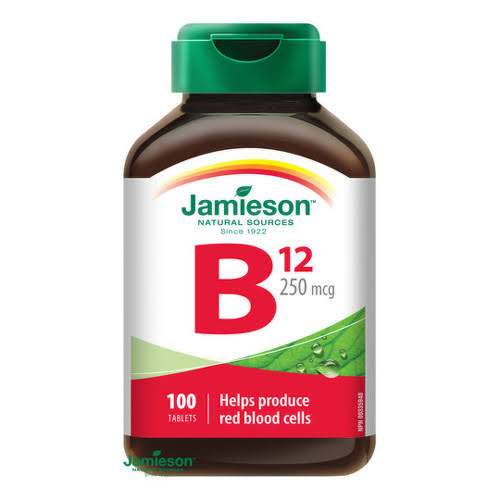 Jamieson Vitamin B12 Supplement - 100ct
