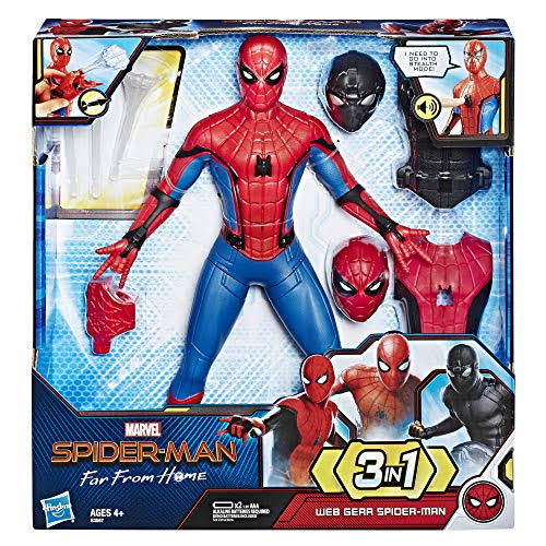 Spider-Man Far from Home Web Gear Action Figure