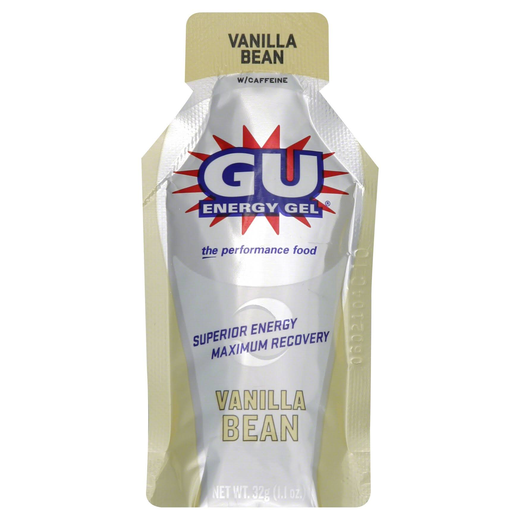 Gu Energy Gel - Vanilla Bean