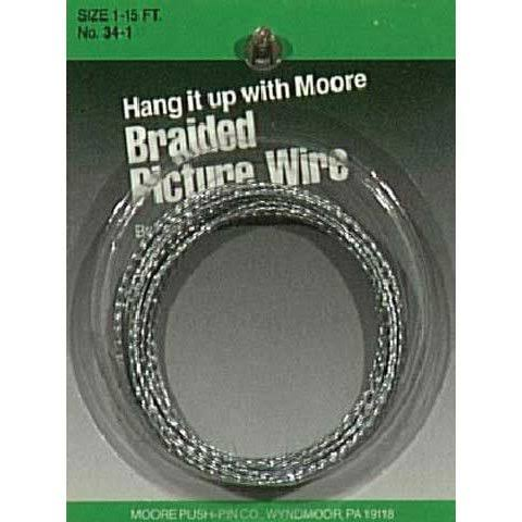 Moore #1 Braided Picture Wire 12lbs