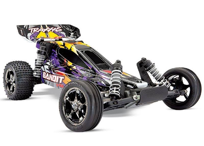 Traxxas 24076-4 Bandit VXL TSM TQi Brushless Buggy RTR Purple