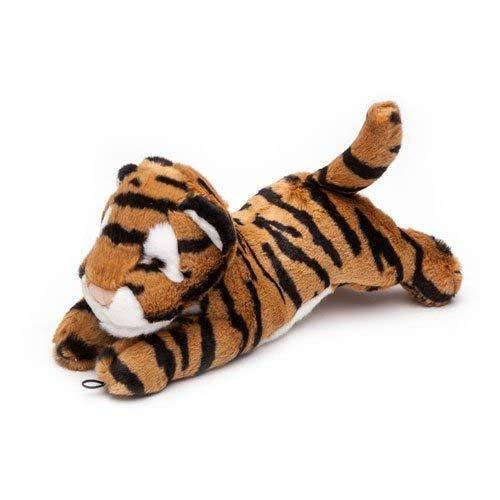 Fluff & Tuff Dog Toy - The Tiger Boomer, 12''