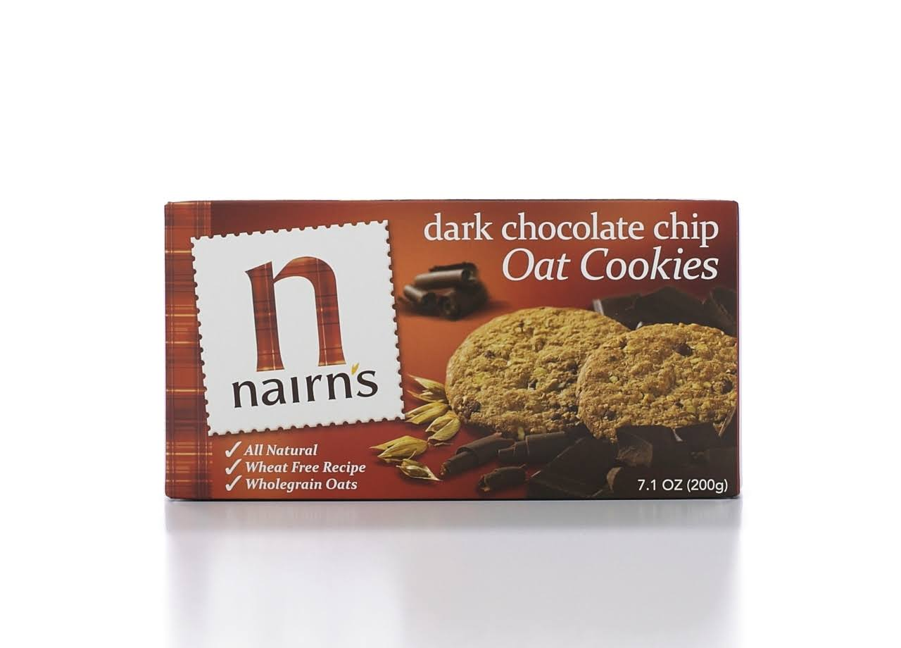Nairns Dark Chocolate Chip Oat Cookies - 200g