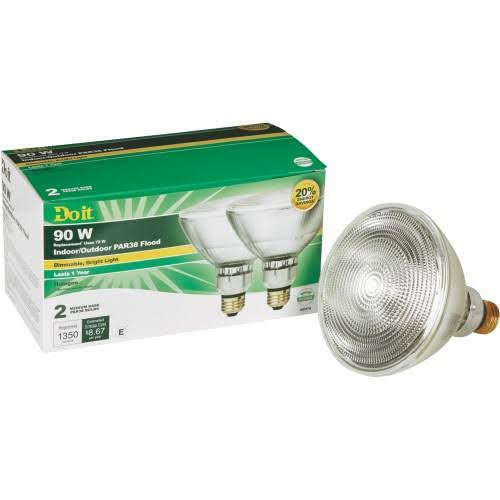 Do It PAR38 Halogen Floodlight Light Bulb - 322693
